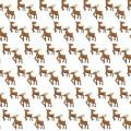 Reindeer Scrapbook Paper