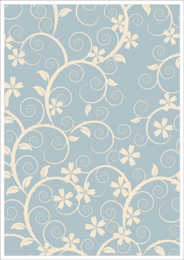 Cream Floral Design
