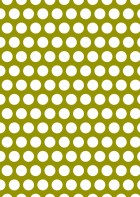 White Polka Dot On Gold Printable Scrapbook Paper