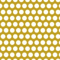 White Polka Dot On Mustard Printable Scrapbook Paper