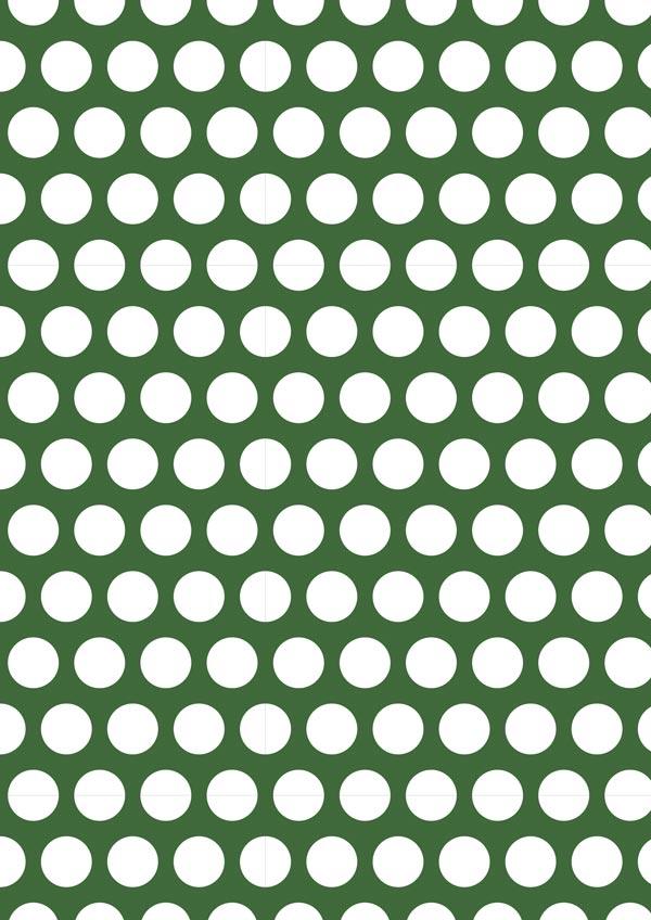 White Polka Dot On Olive Printable Scrapbook Paper